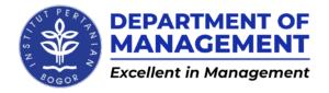 Logo Manajemen FEM IPB